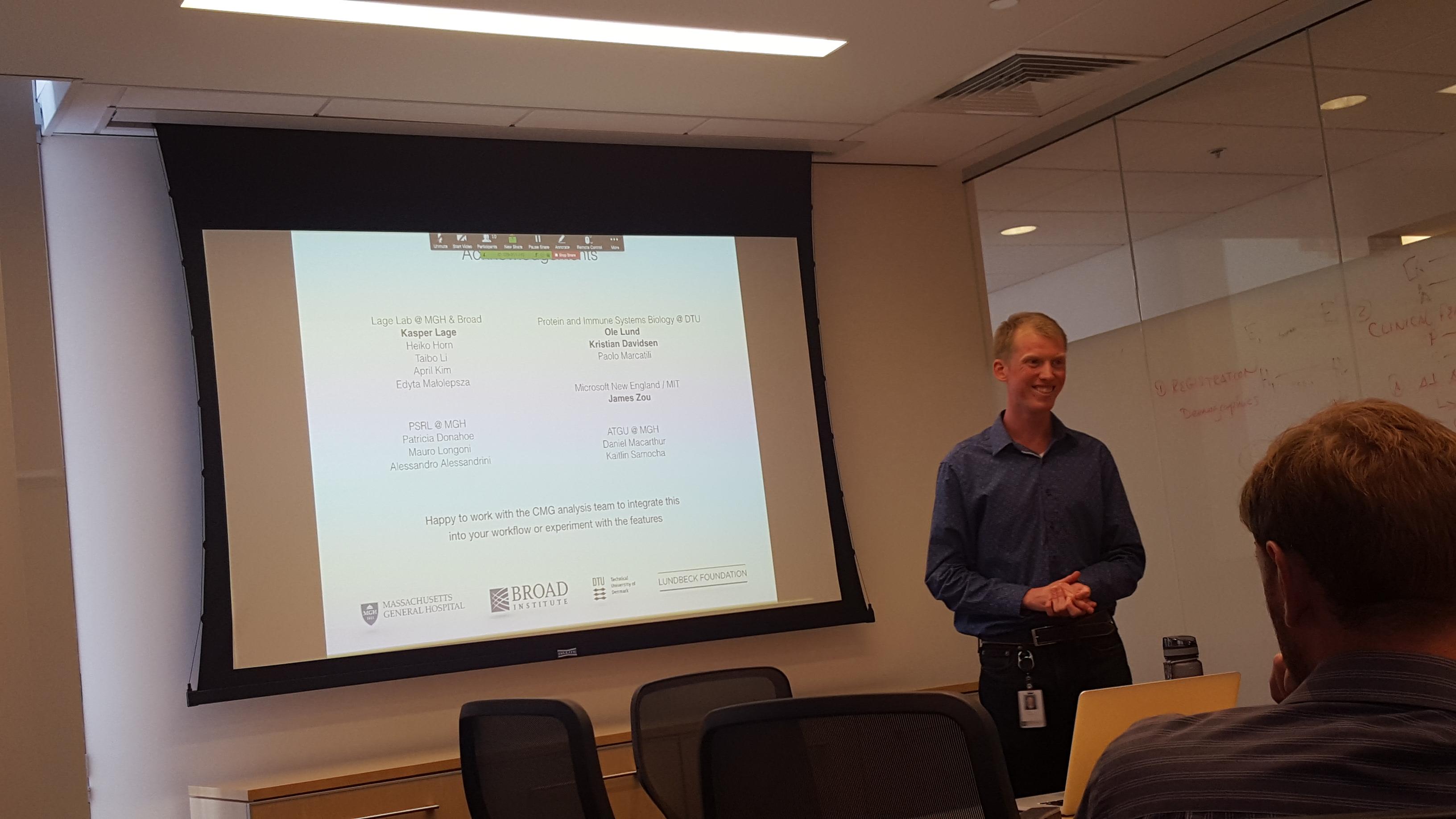 Jakob's Presentation